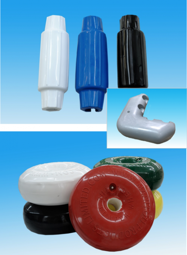 Molded PVC Dock Bumpers